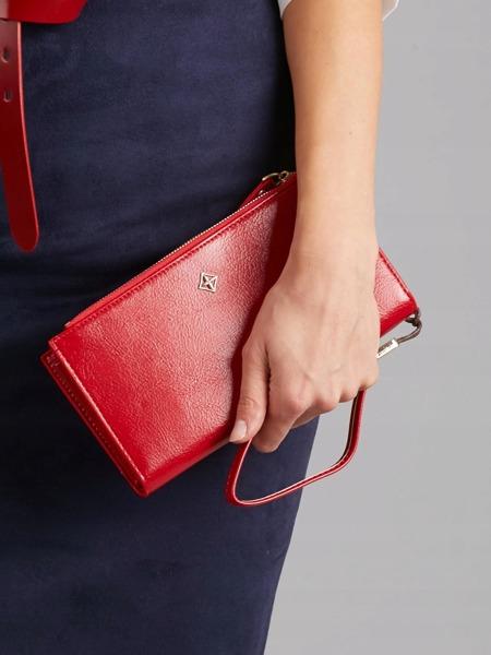 Dámská praktická peněženka Devin, červená