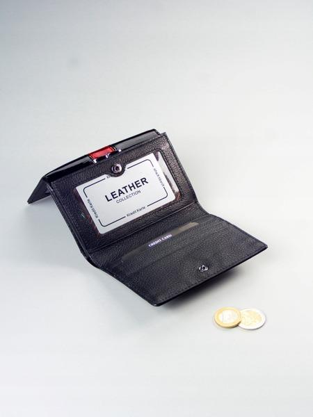 Luxusní dámská peněženka Claudie, černá