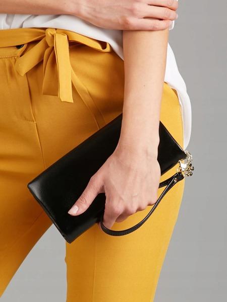 Větší praktická dámská peněženka Milano, černá