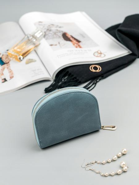 Malá dámská peněženka na doklady Jily, modrá
