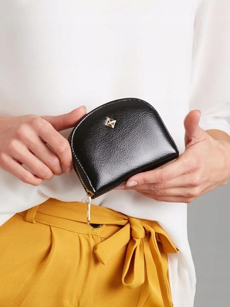 Malá dámská peněženka na doklady Jily, černá