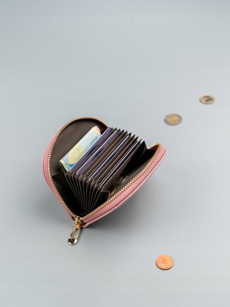 Malá dámská peněženka na doklady Jily, růžová