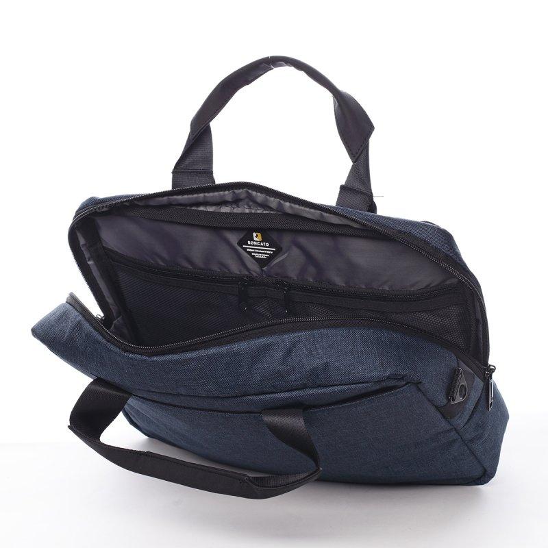 Pánská pracovní taška Emanuel modrá