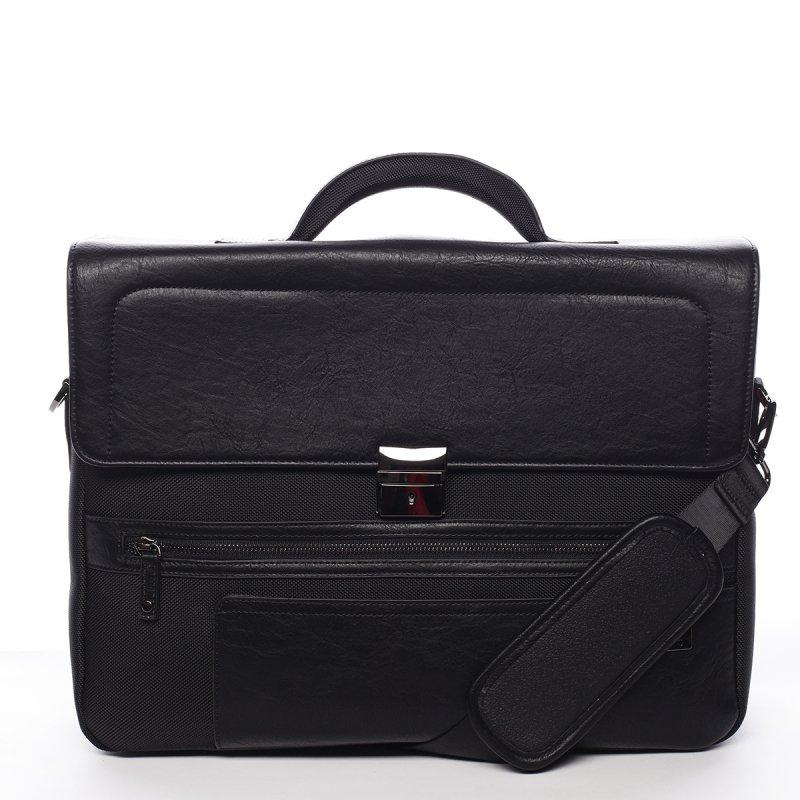 Velká  pánská pracovní taška Gaspar Ciak Roncato černá