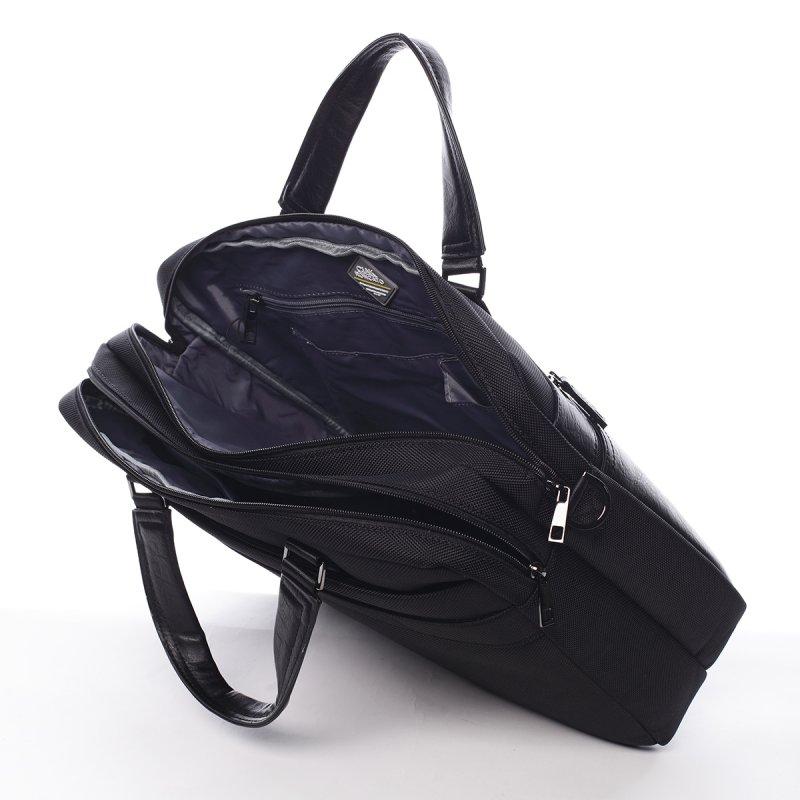 Módní pánská pracovní taška Reyes Ciak Roncato černá