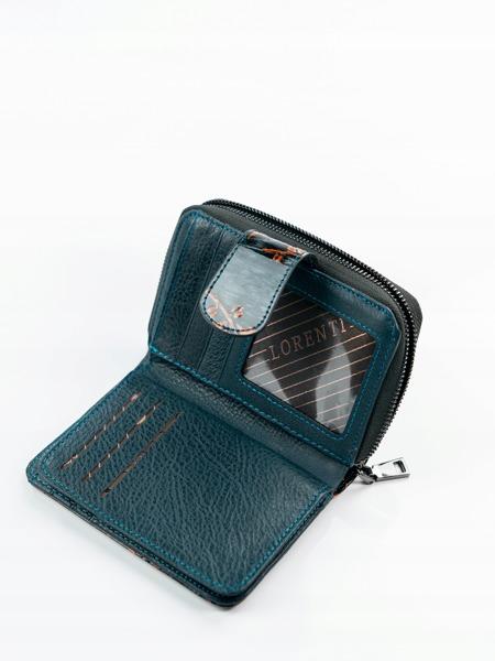 Lesklá elegantní peněženka Rea, hnědá