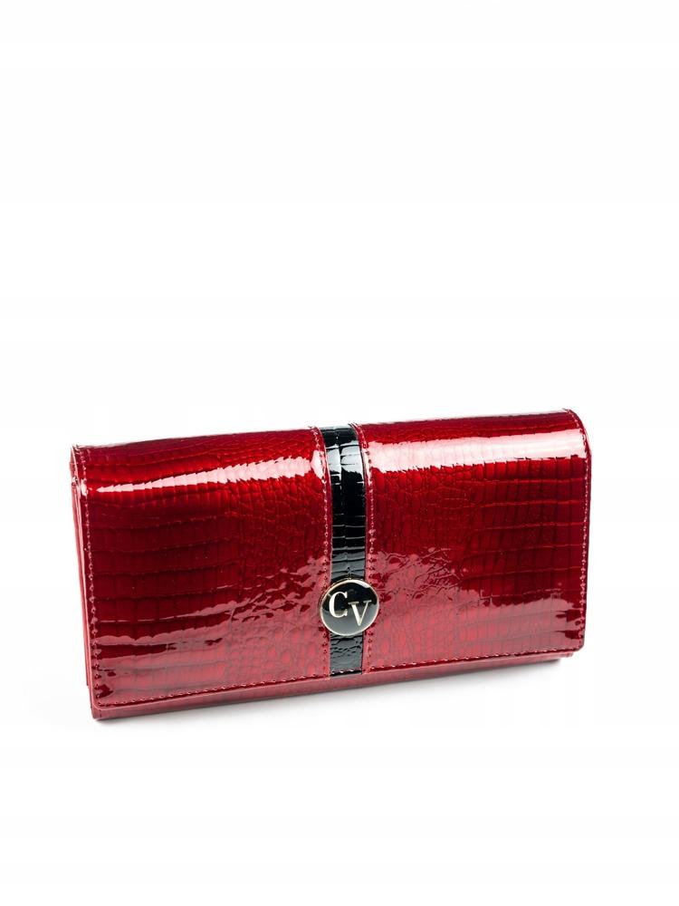 Dámská lakovaná peněženka Ciandra červená