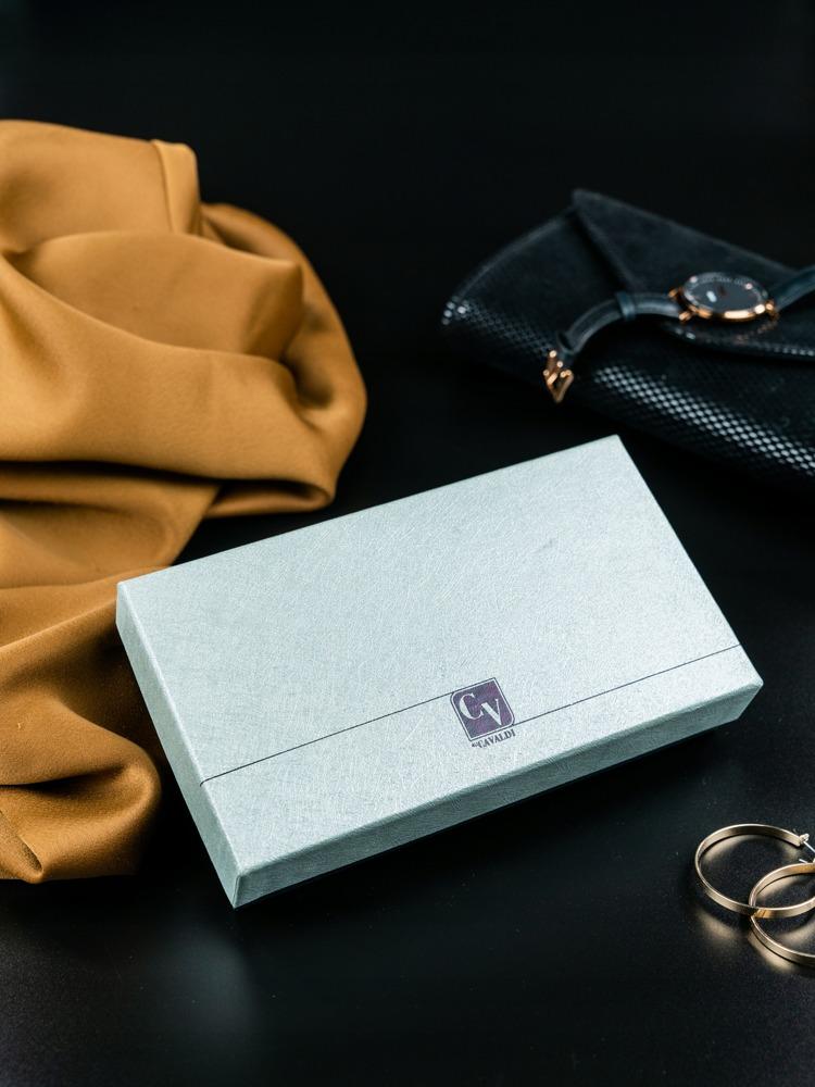 Luxusní kožená peněženka Bobine černá