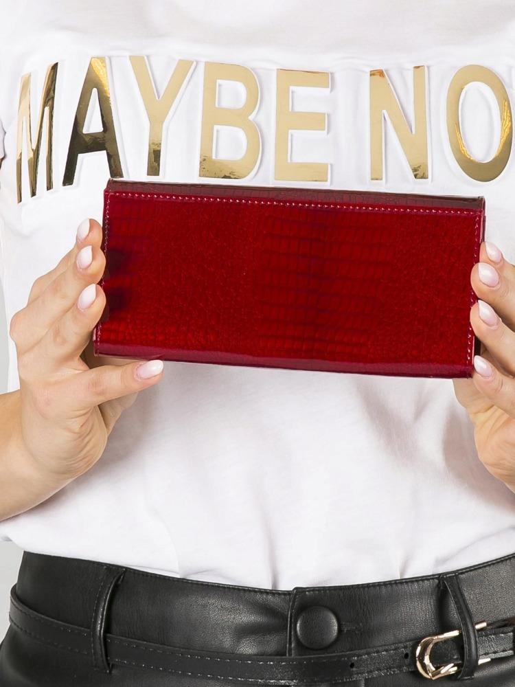 Luxusní dámská peněženka z kůže Betina červená