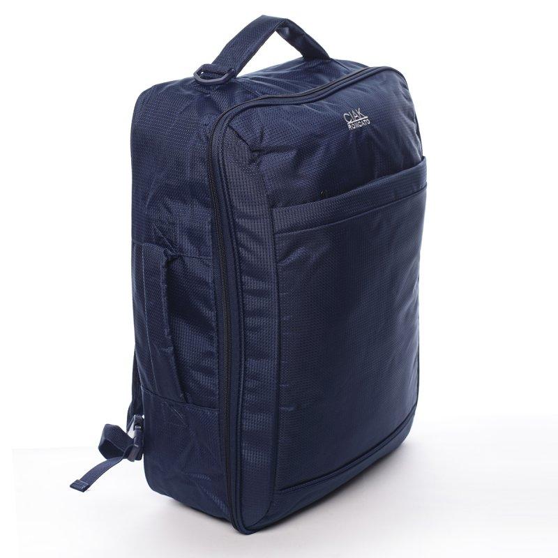 Cestovní textilní zavazadlo Alfredo Ciak Roncato modrý