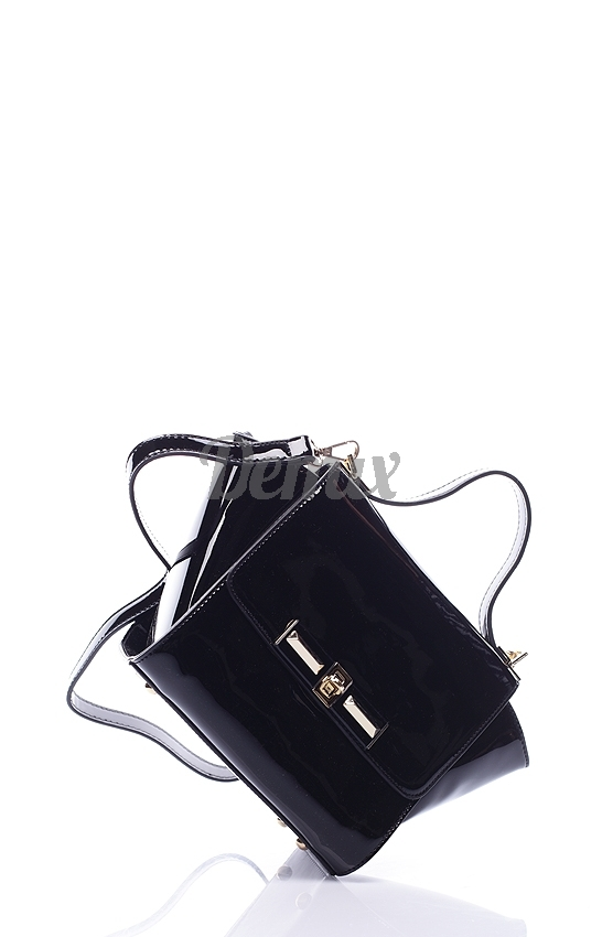 Černá trendová kabelka Milano