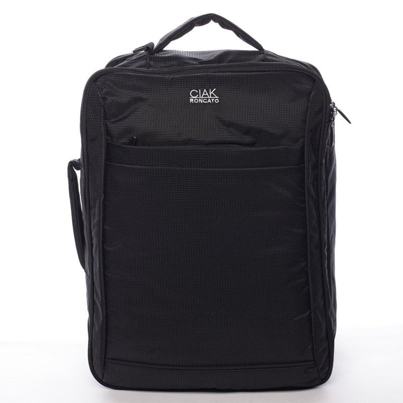 Cestovní textilní zavazadlo Alfredo Ciak Roncato  černý