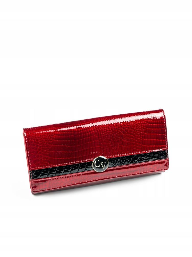 Luxusní dámská kožená peněženka Tiana, červená