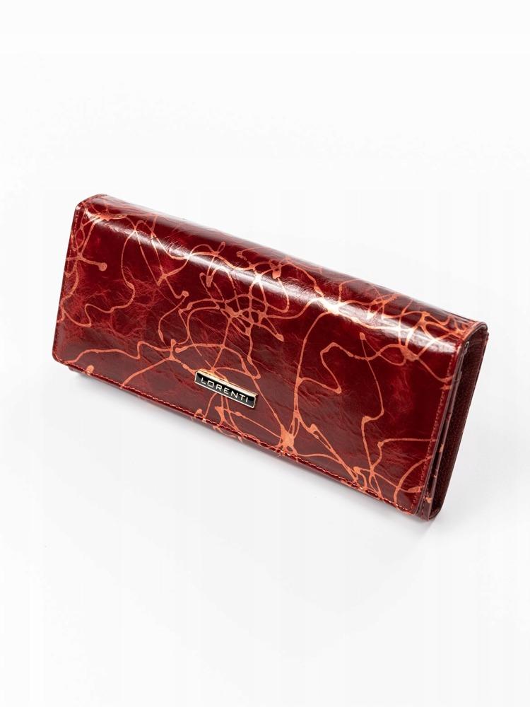 Elegantní kožená peněženka Rio, červená