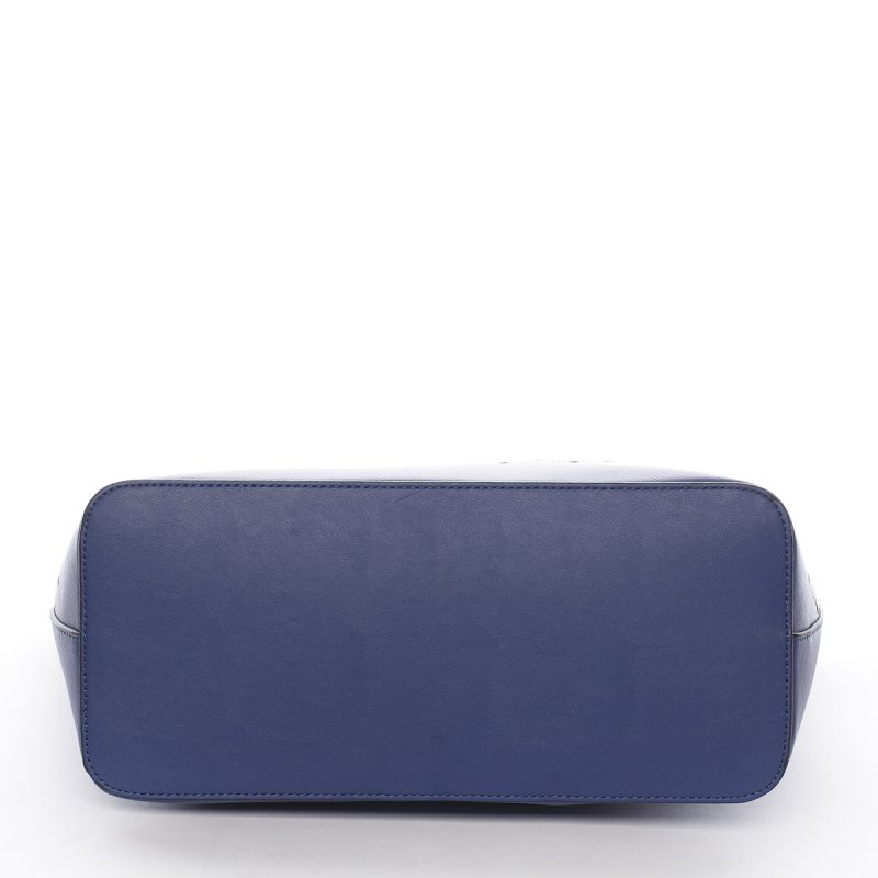 Velice módní kabelka Pierre Cardin Avril, modrá