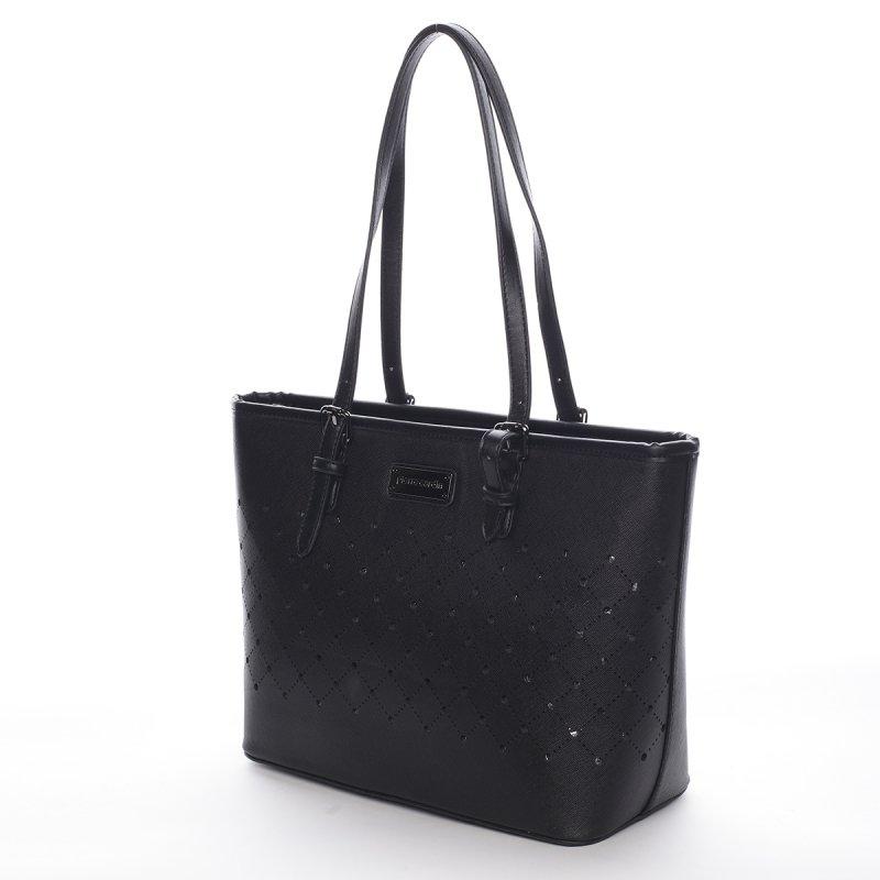 Velice módní kabelka Pierre Cardin Avril, černá