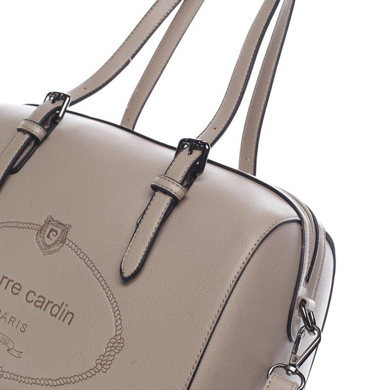 Stylová kabelka PIERRE CARDIN Daira, béžová