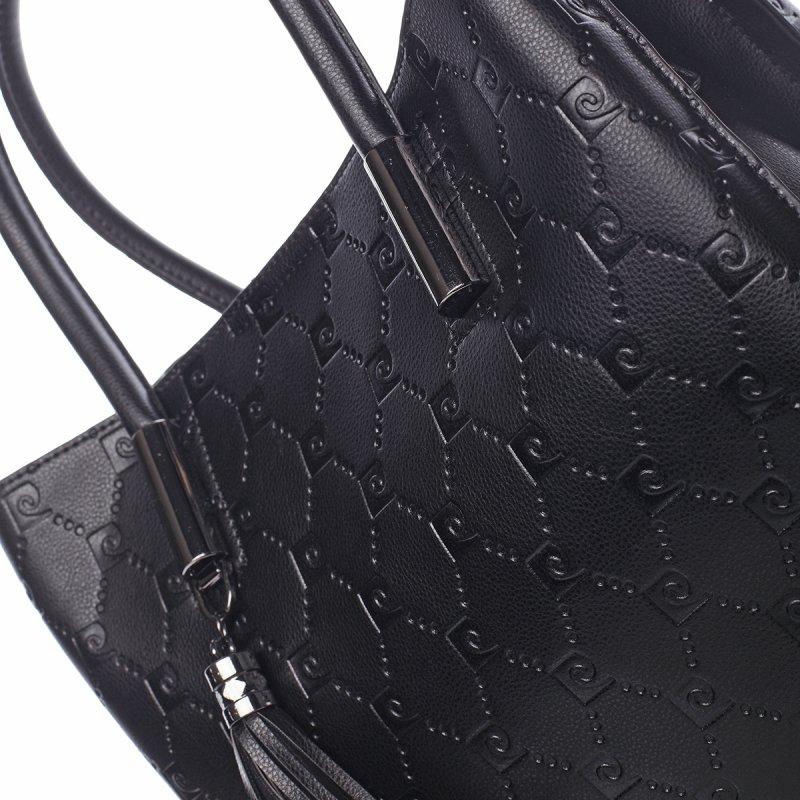Luxusní kabelka PIERRE CARDIN Candelaria, černá