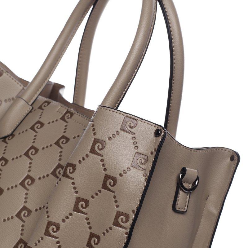 Luxusní kabelka PIERRE CARDIN Candelaria, béžová