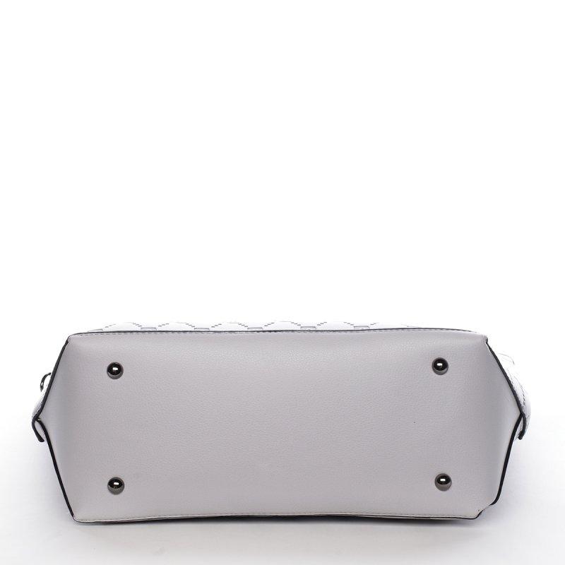 Moderní kabelka PIERRE CARDIN Emilia, šedá