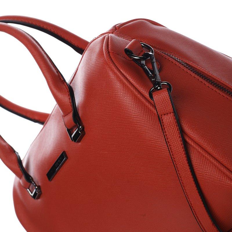 Trendy dámská kabelka PIERRE CARDIN Eugenia, červená