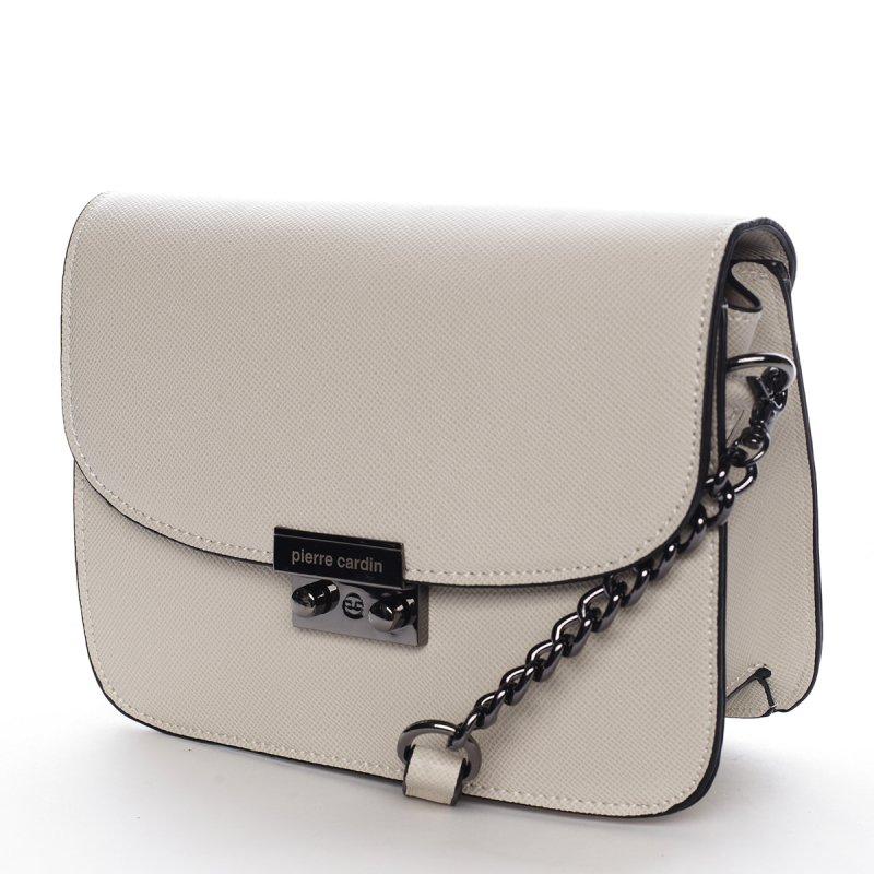 Elegantní crossbody kabelka PIERRE CARDIN Gema, béžová