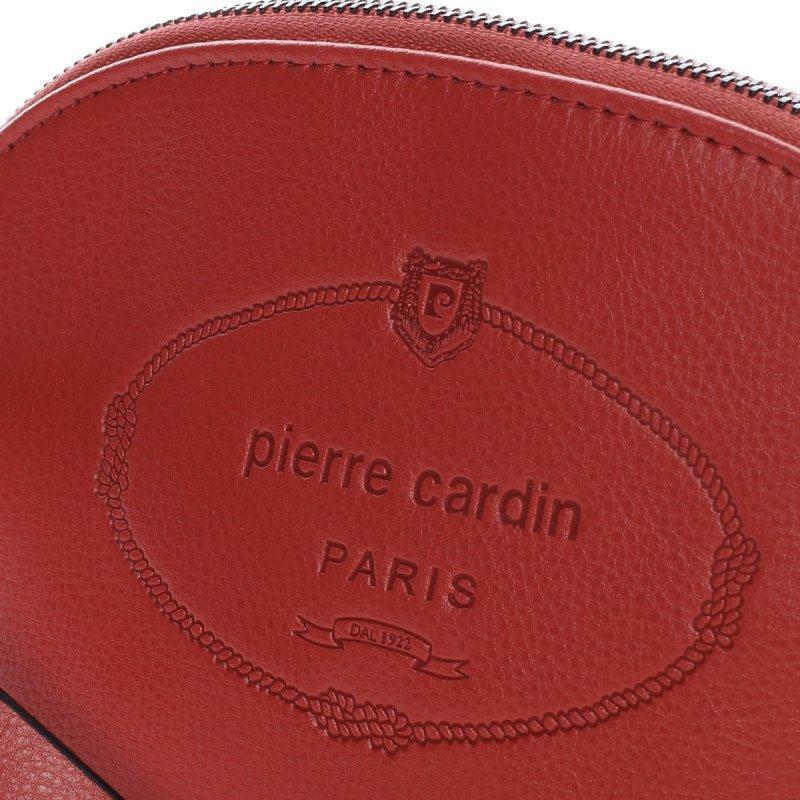 Originální dámské psaníčko PIERRE CARDIN Hermosa, červená