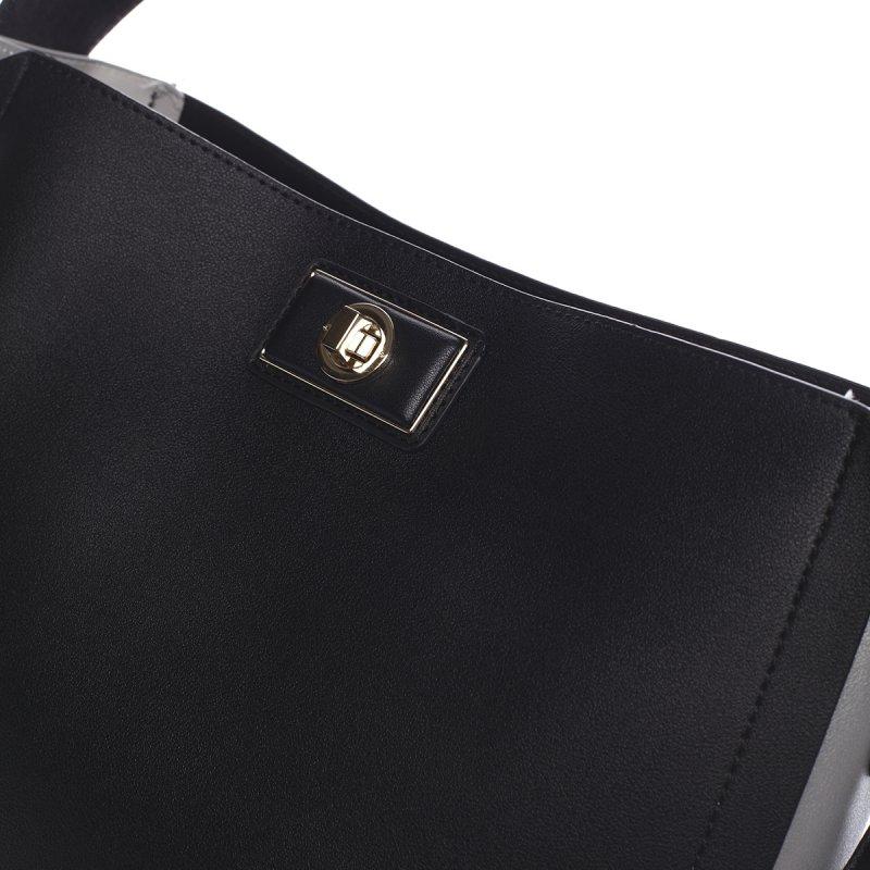 Smyslná dámská kabelka PIERRE CARDIN Luz , černá