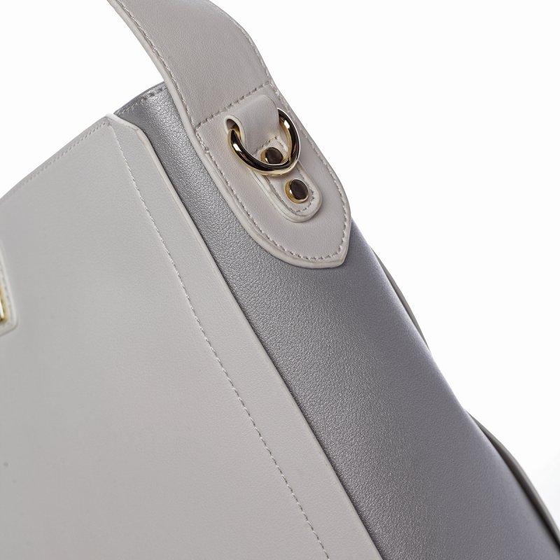 Smyslná dámská kabelka PIERRE CARDIN Luz , bílá