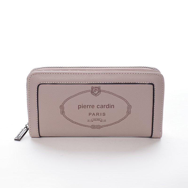 Velká dámská koženková peněženka Maria Goretti růžová