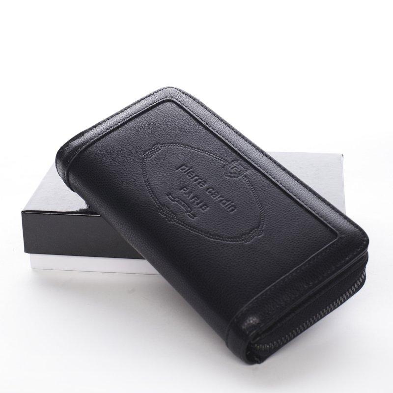 Velká dámská koženková peněženka Maria Goretti černá