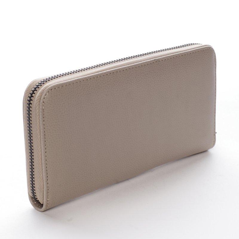 Dámská koženková peněženka Clotilde béžová
