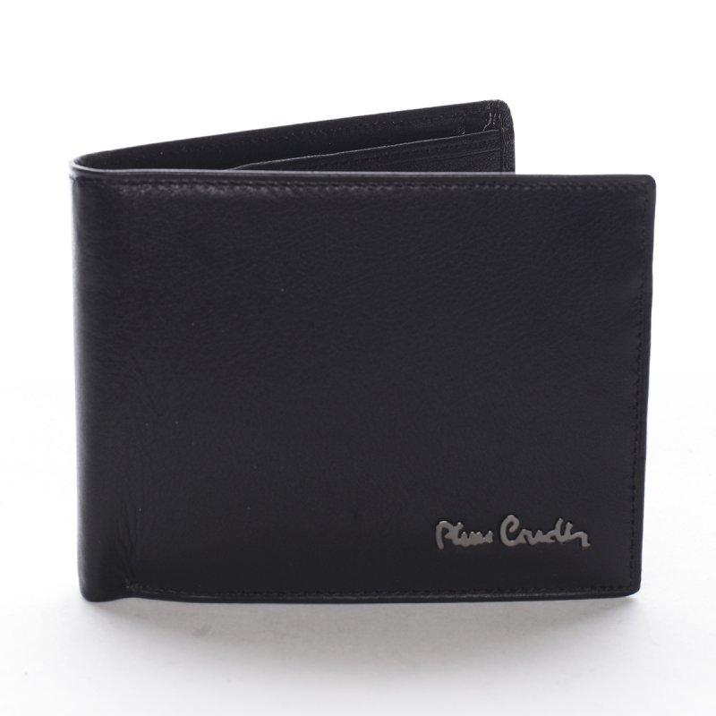Módní pánská kožená peněženka Giada černá