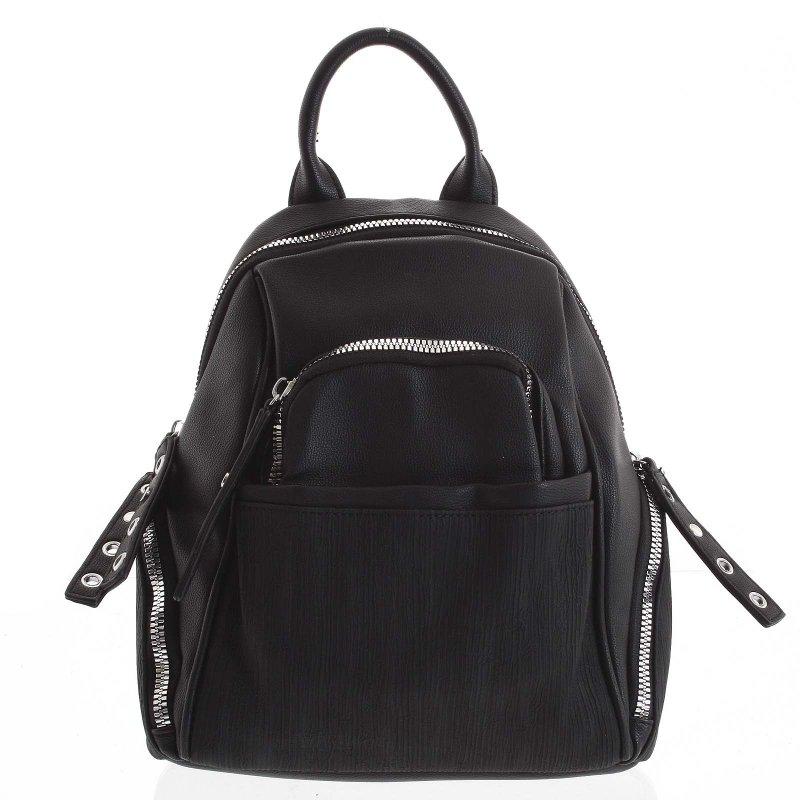 Módní dámský batůžek Giulia černá