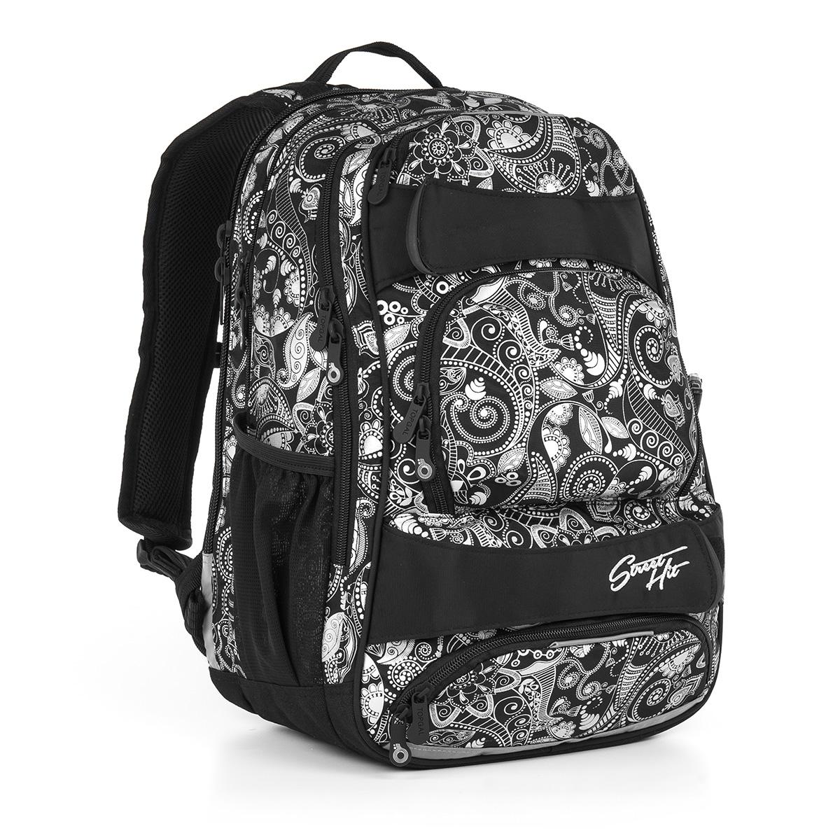 Studentský batoh Topgal HIT 894 A - Black
