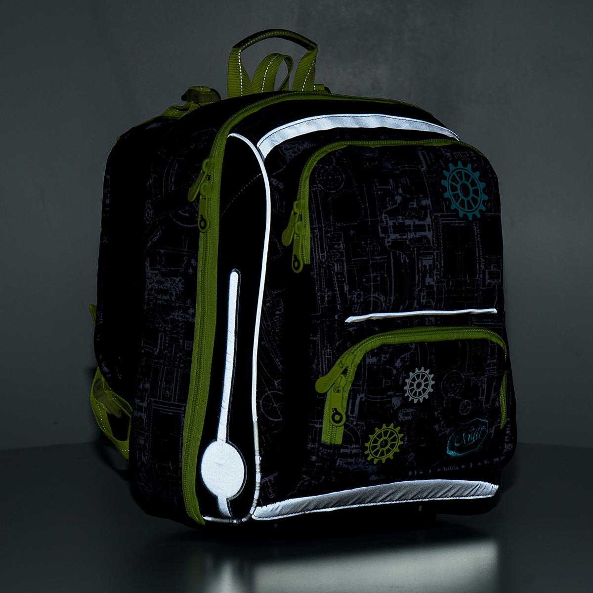 Školní aktovka Topgal CHI 785 E - Green