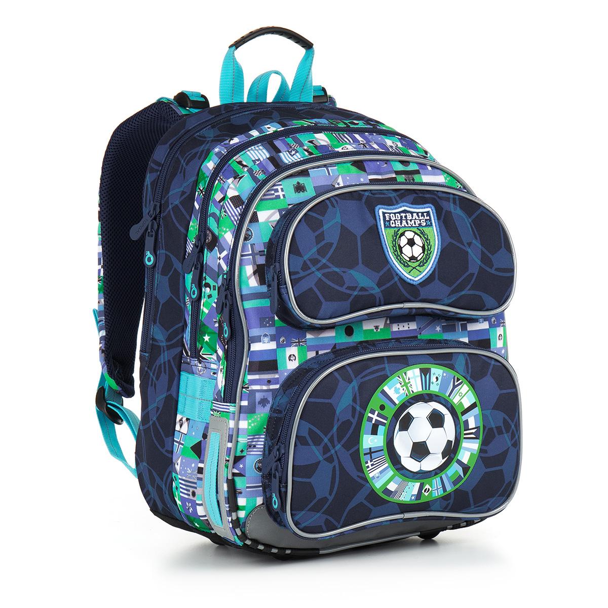 Školní batoh Topgal CHI 884 D - Blue