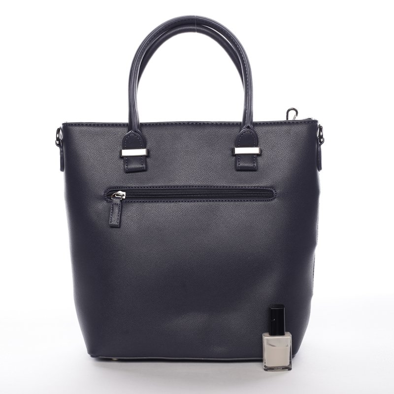 Stylová dámská kombinovaná kabelka Patrizia modrá
