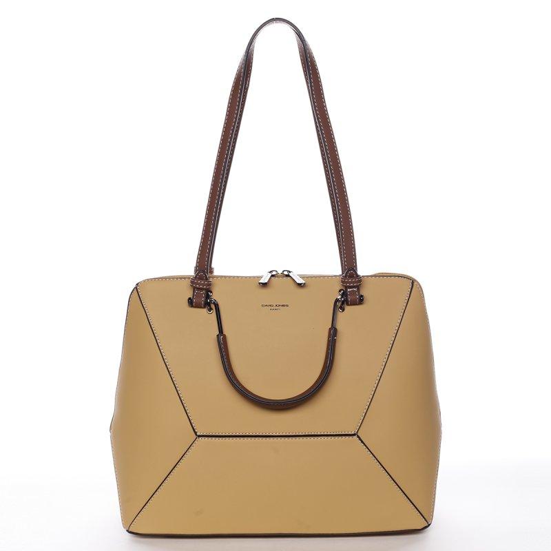 Nadčasová kabelka přes rameno Esperanza, žlutá