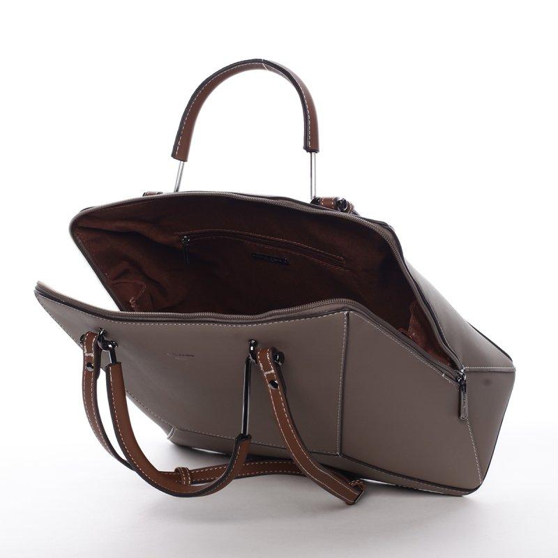 Nadčasová kabelka přes rameno Esperanza, tmavě béžová