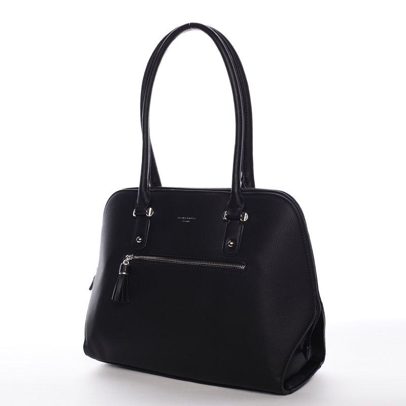 Praktická dámská kabelka přes rameno Ines, černá