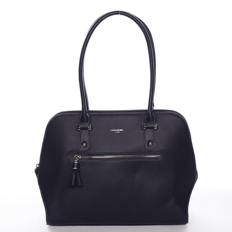 Praktická dámská kabelka přes rameno Ines, tmavě modrá