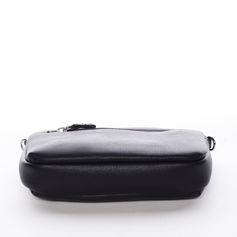 Minimalistická dámská crossbody kabelka Natalia, černá