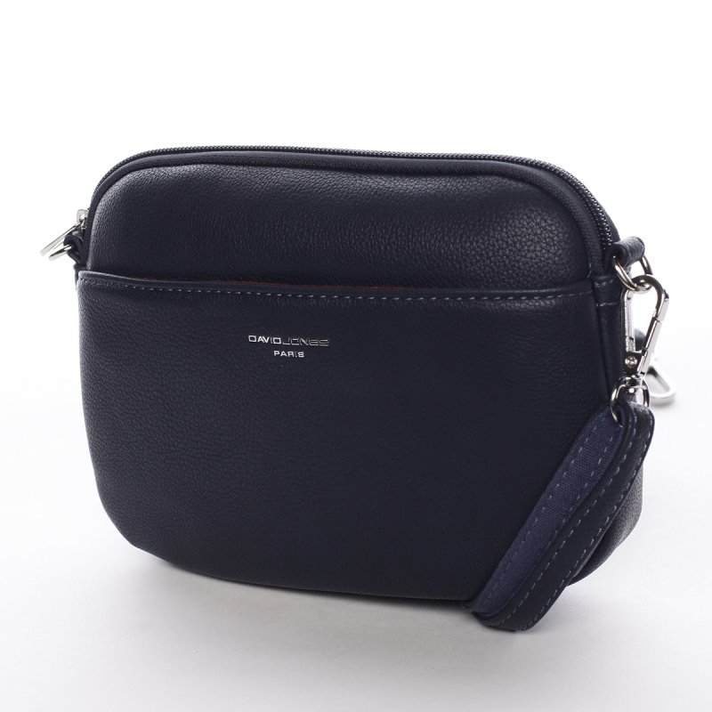Minimalistická dámská crossbody kabelka Natalia, tmavě modrá