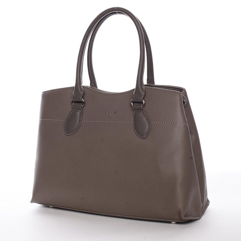Dámská kabelka do ruky Solana, tmavě béžová
