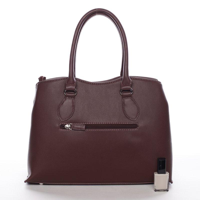 Dámská kabelka do ruky Solana, tmavá bordó