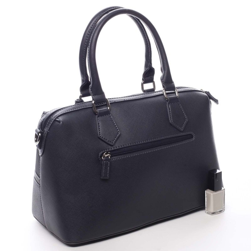 Moderní kabelka do ruky DJ Tiara, tmavě modrá