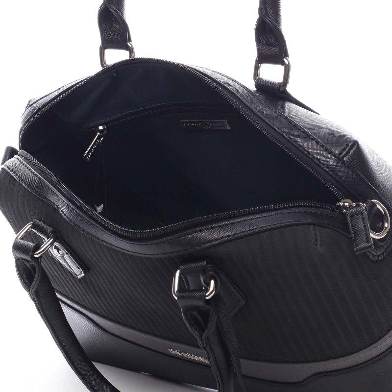 Moderní kabelka do ruky DJ Tiara, černá