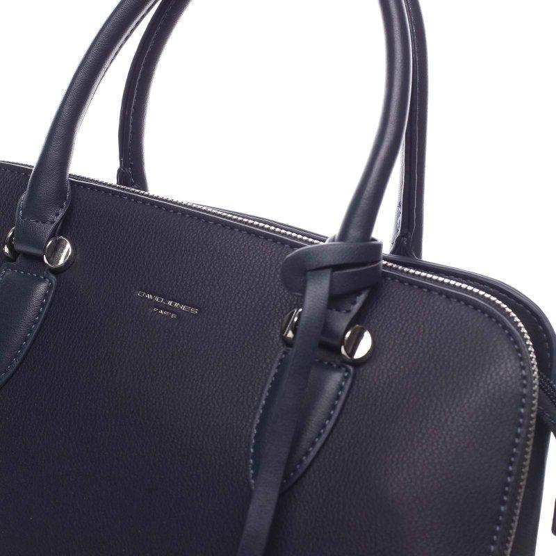 Elegantní kabelka do ruky Thalia, tmavě modrá