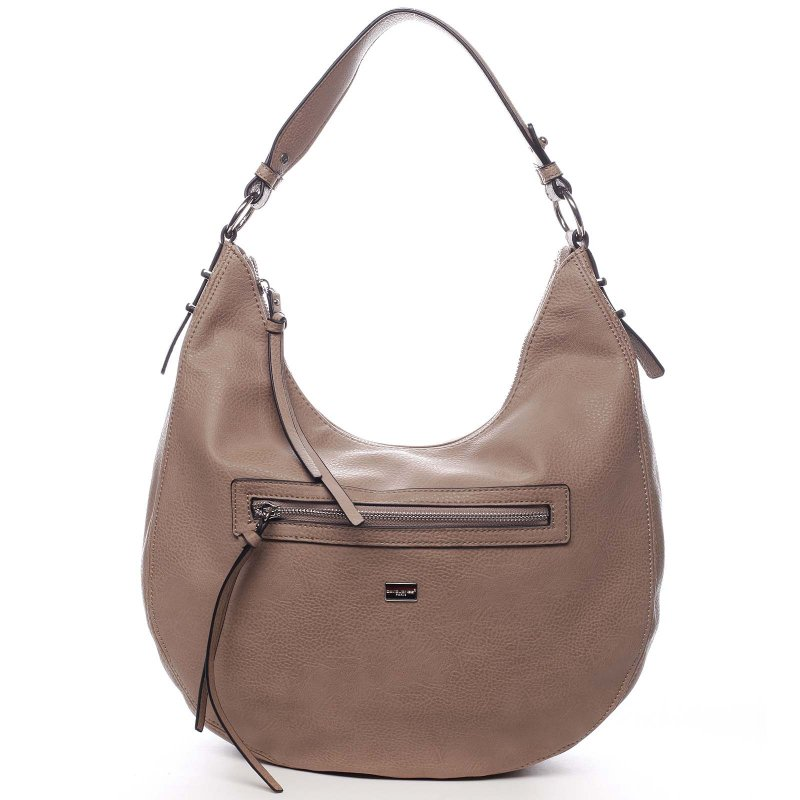 Praktická kabelka přes rameno Selena, tmavě růžová